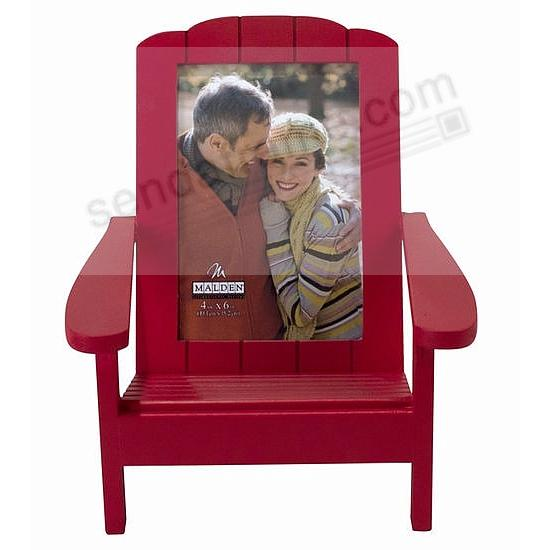 RED ADIRONDACK CHAIR frame by Malden Designs® - Picture Frames ...