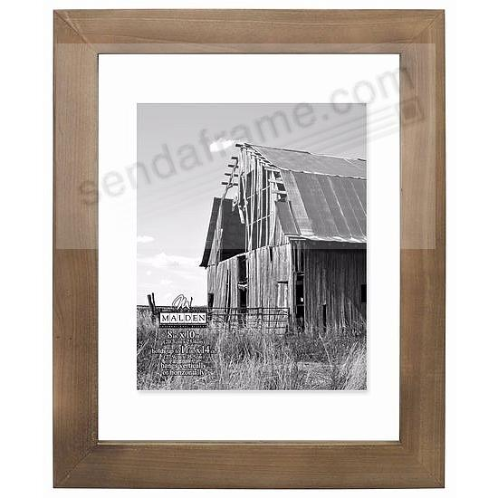 BARNWOOD DISTRESSED Wood FLOAT 11x14/8x10 frame by Malden® - Picture ...