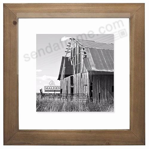 BARNWOOD WEATHERED FLOAT 12x12/10x10 frame by Malden® - Picture ...