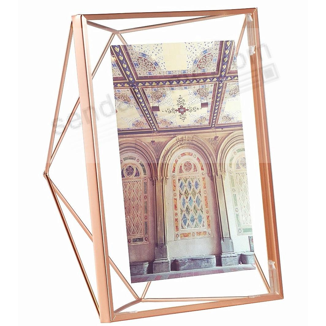 the original prisma photo display copper 5x7 frame by umbra