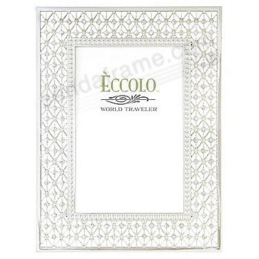 WEDDING JEWEL ART DECO crystal frame by Eccolo® - Picture Frames ...