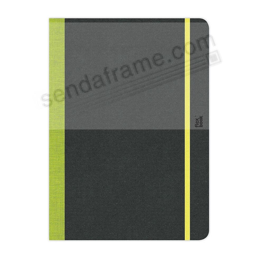 FLEXBOOK SKETCHBOOK Lime-Green (Blank - DeskSize) by PratParis®