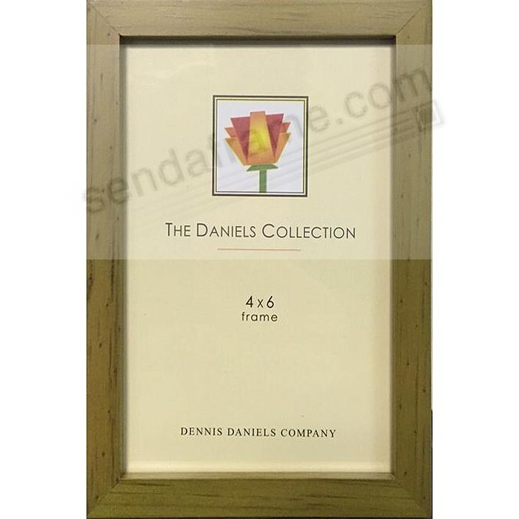 Brown/Yellow-stained oak square-corner GALLERY WOODS 4x6 frame by Dennis Daniels®