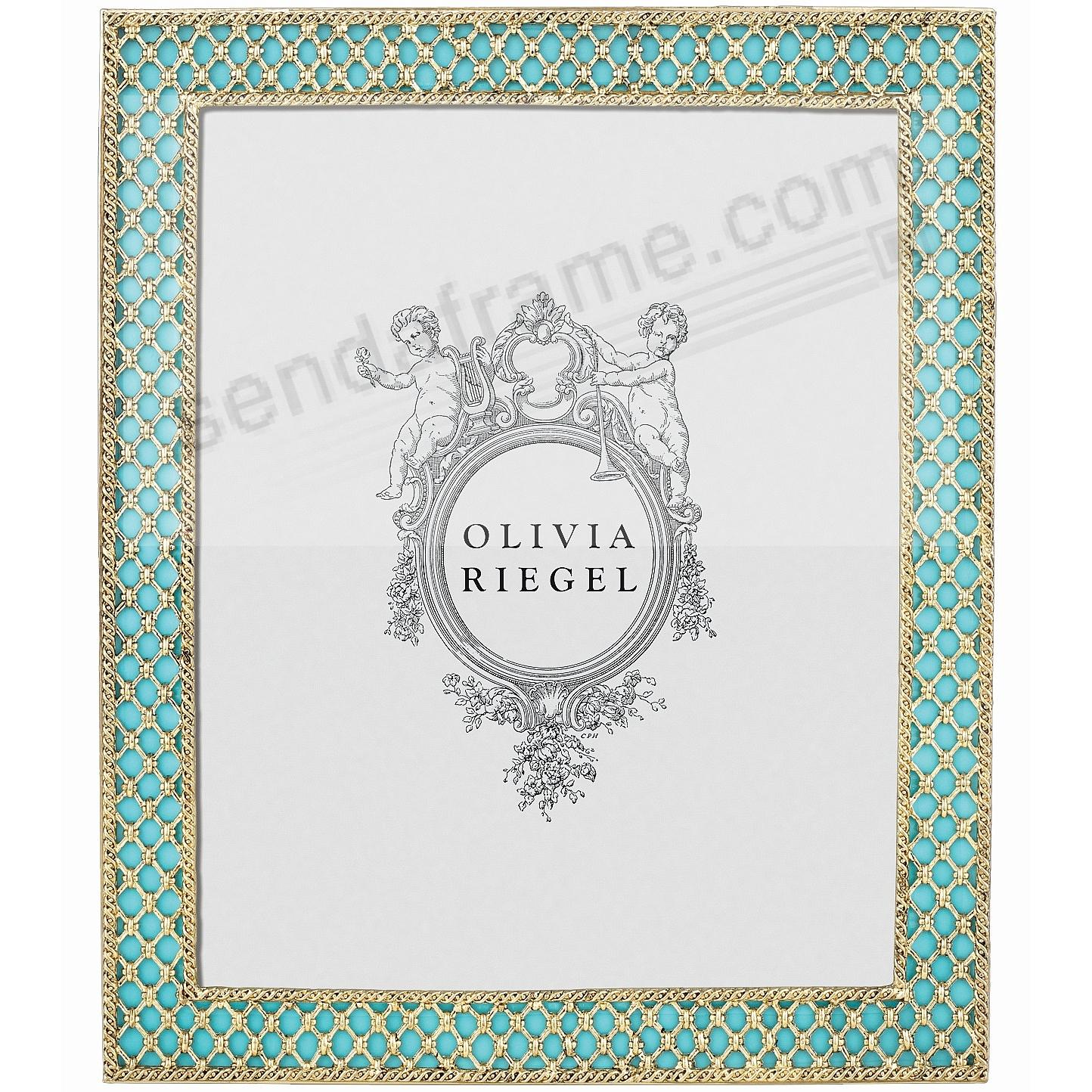 TURQUOISE SUSIE 8x10 frame by Olivia Riegel® - Picture Frames, Photo ...