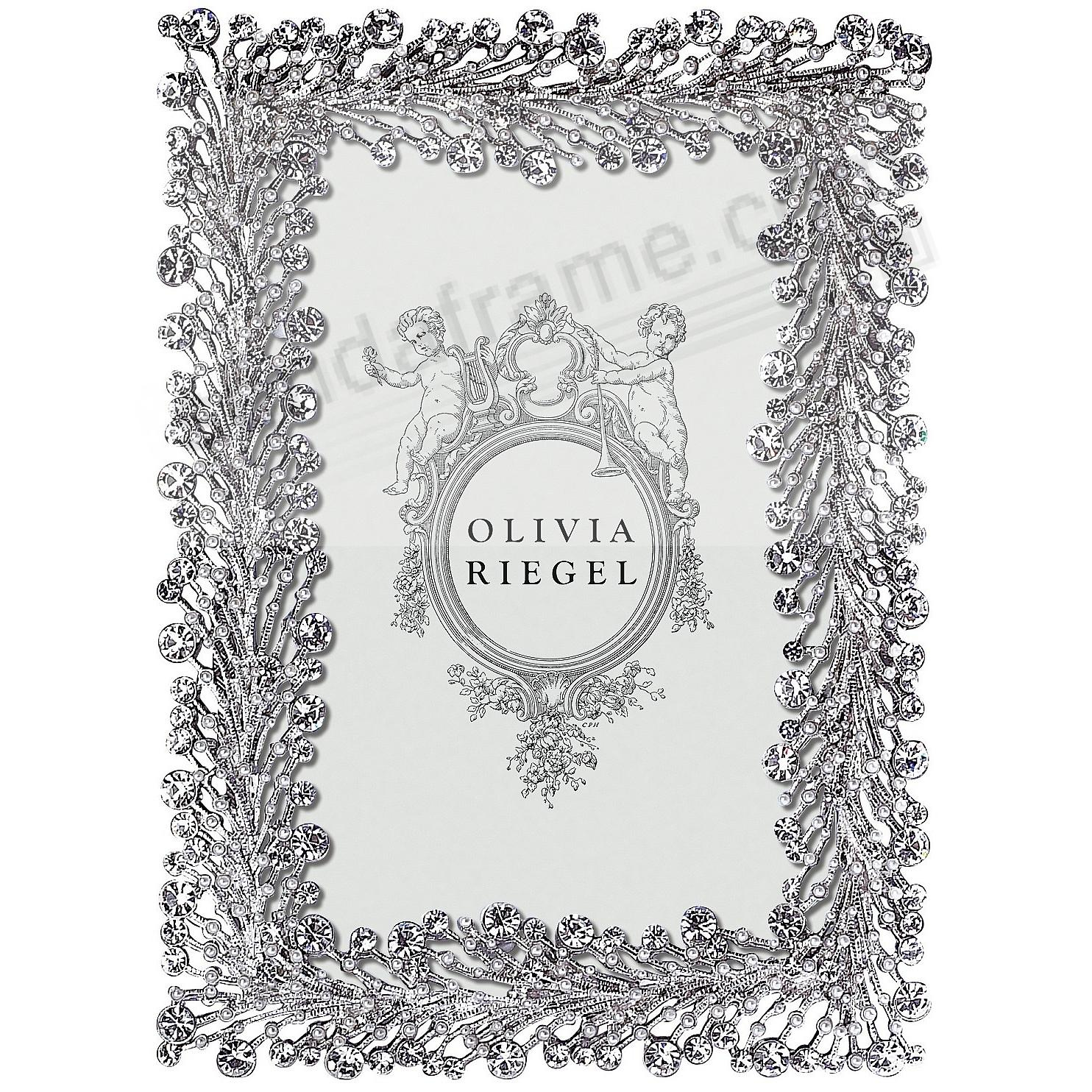 TWINKLES Austrian Crystal + Pearl 4x6 frame by Olivia Riegel®