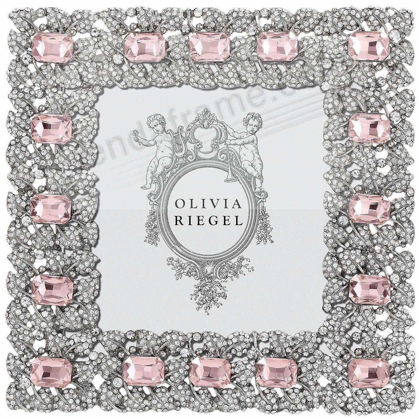 ROSE GENEVIEVE Crystal 4x4 frame by Olivia Riegel® - Picture Frames