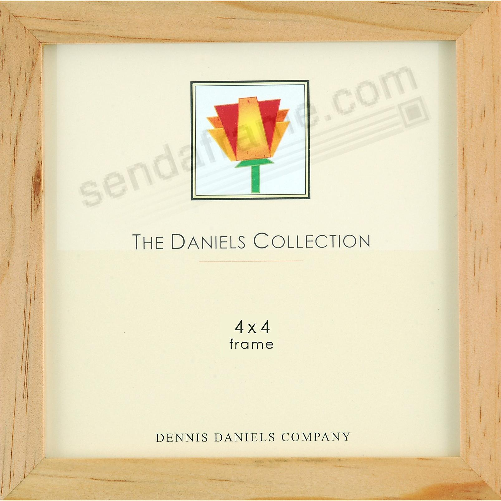 The Original W41: Square Corner GALLERY WOODS natural-stain 4x4 by Dennis Daniels®