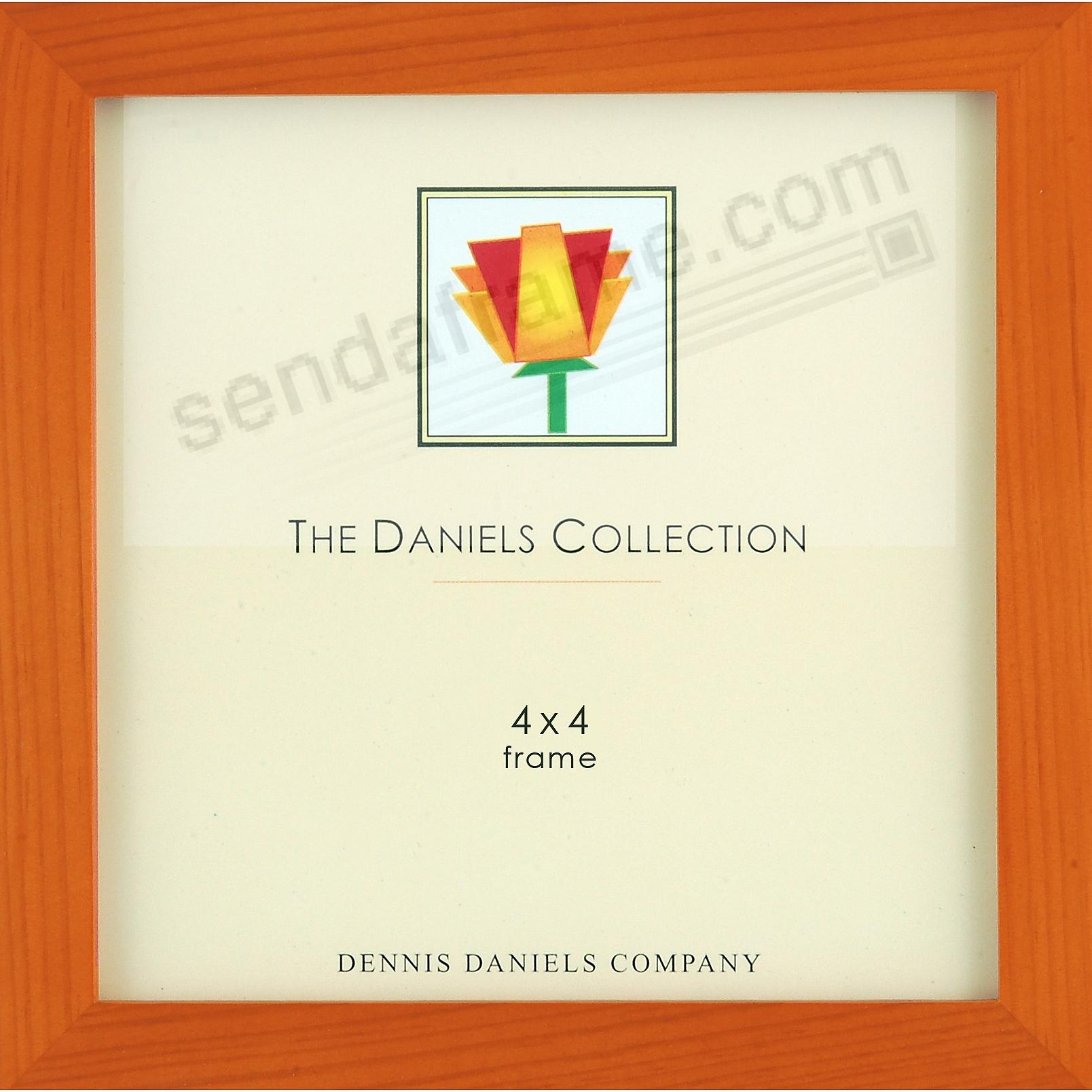 Picture frames photo albums personalized and engraved digital the original w41 square corner gallery woods cherry wood stain 4x4 by dennis danielsreg jeuxipadfo Choice Image