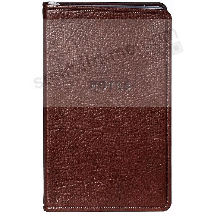 Brown Eco-leather Notebook by Graphic Image™