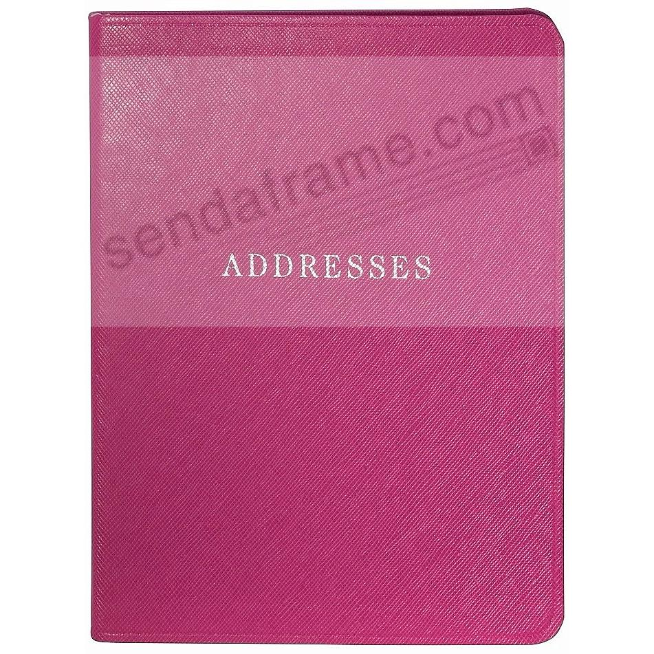 Pink Eco-leather Address Book by Graphic Image™