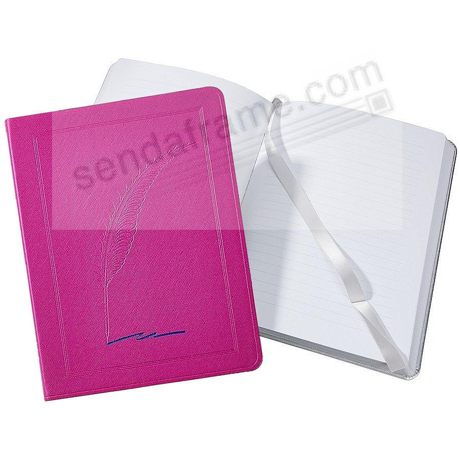 Saffiano-Pink QUILL Eco-Leather 9in Large Journal by Graphic Image™