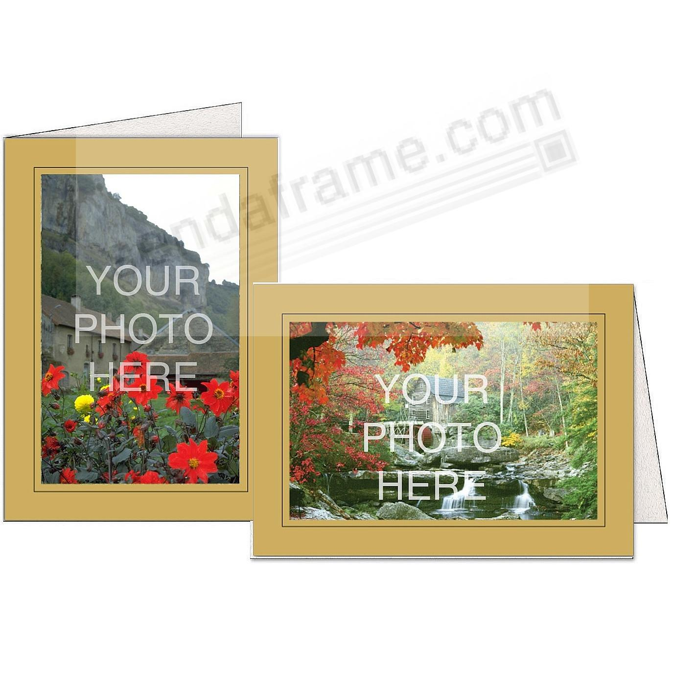 HONEY w/Black Trim Border Photo Insert Card (sold in 10s)