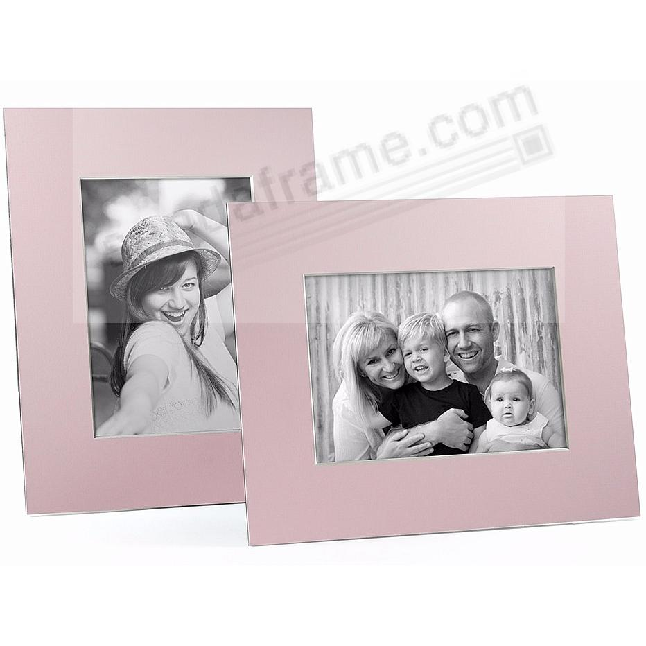 PINK/White Core BEVEL-CUT Easel 5x7 Frame Paper Stock (sold in 6s)