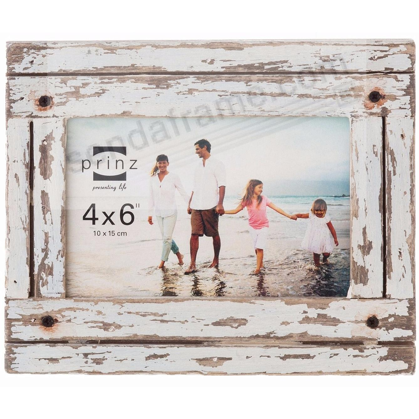 HOMESTEAD Distressed White Wood Frame by Prinz® - Picture Frames ...