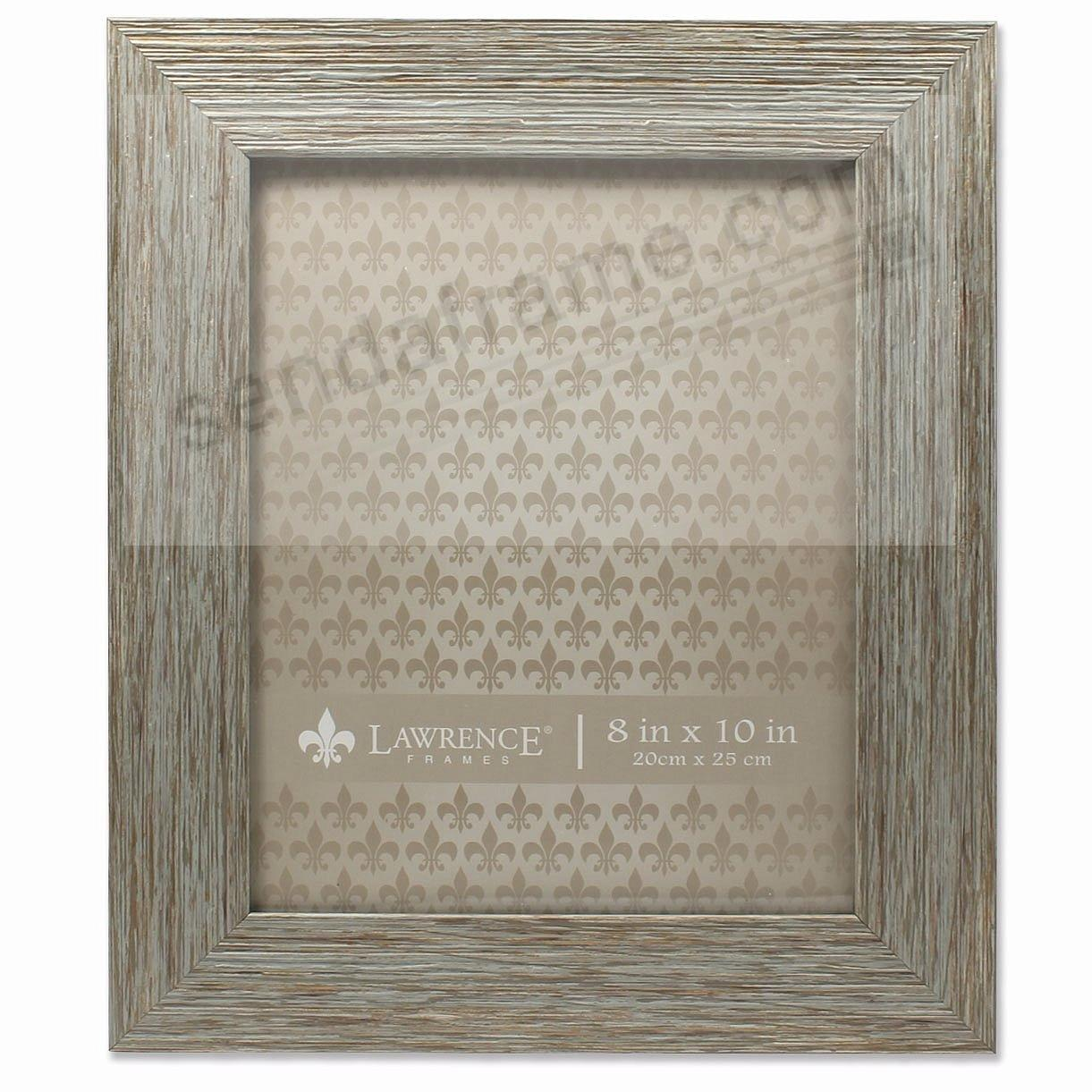 Weathered Blue/Grey Wood 8x10 Frame by Lawrence®