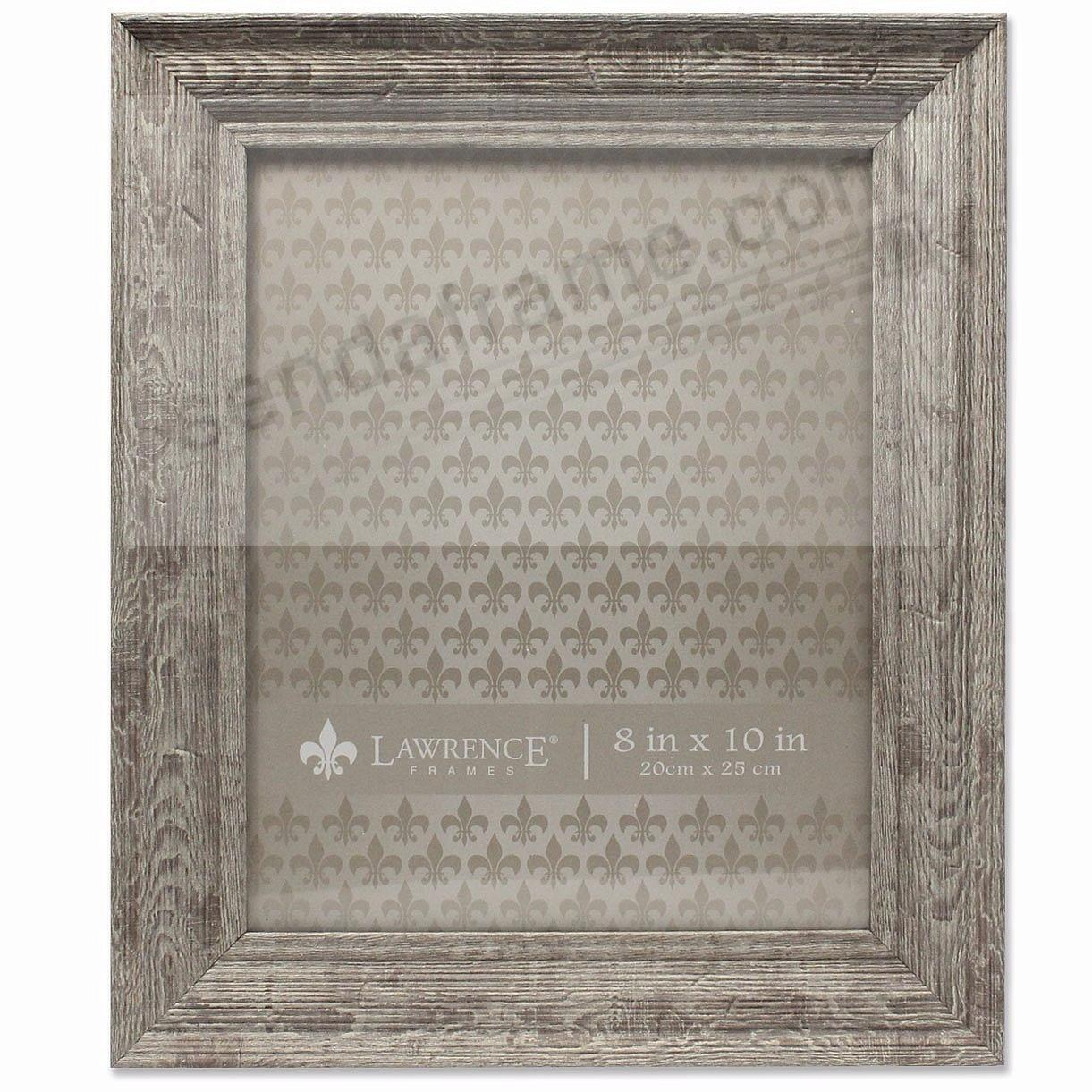 Weathered Harvest-Brown Barnwood 8x10 Frame by Lawrence®