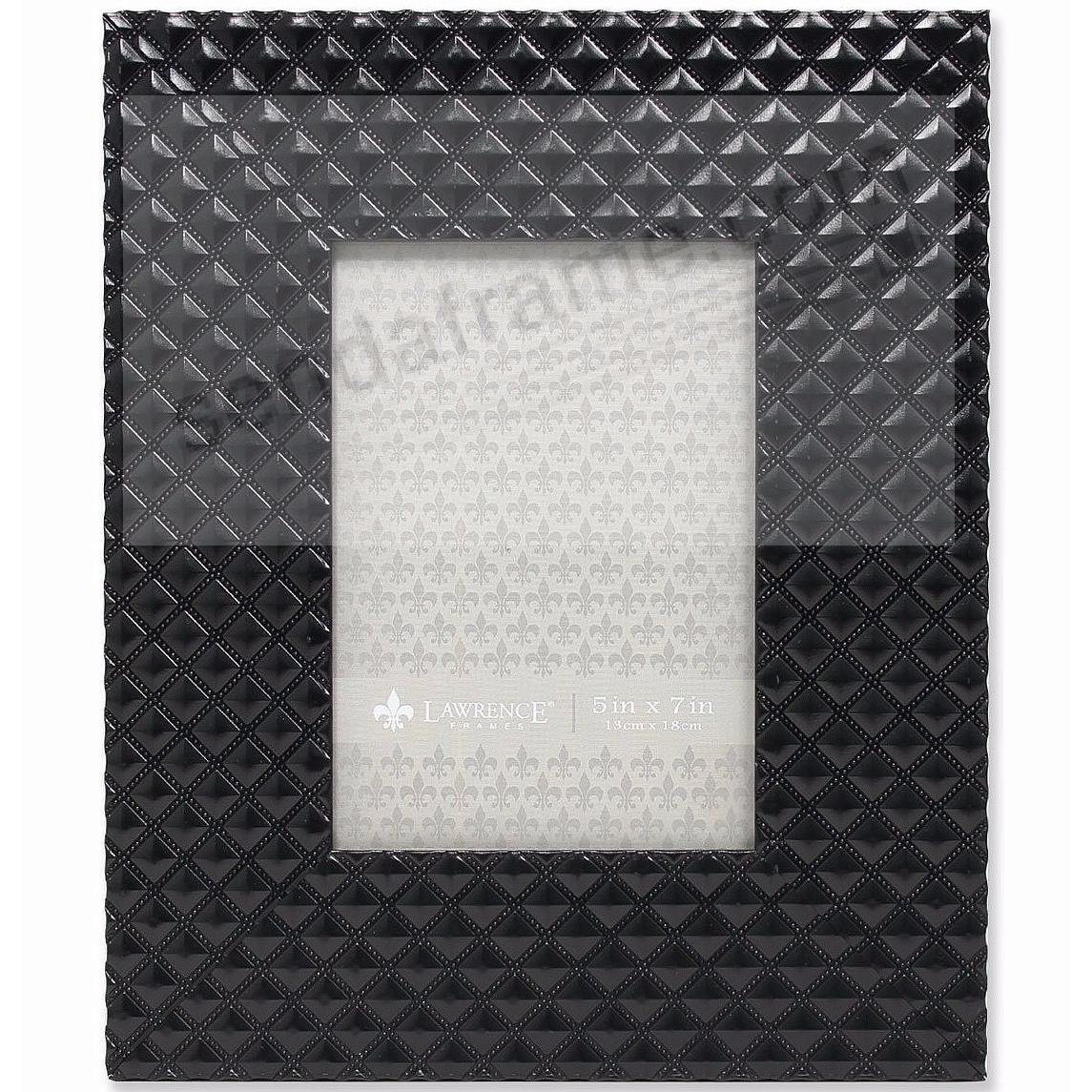 DIAMOND PATTERN 5x7 Frame by Lawrence® - Picture Frames, Photo ...