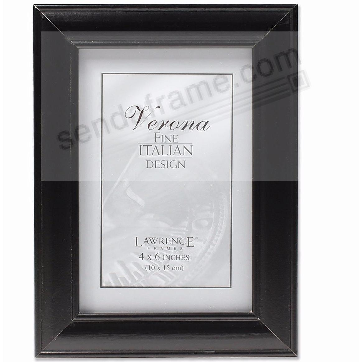 Ebony-Black Domed 4x6 frame by Lawrence®