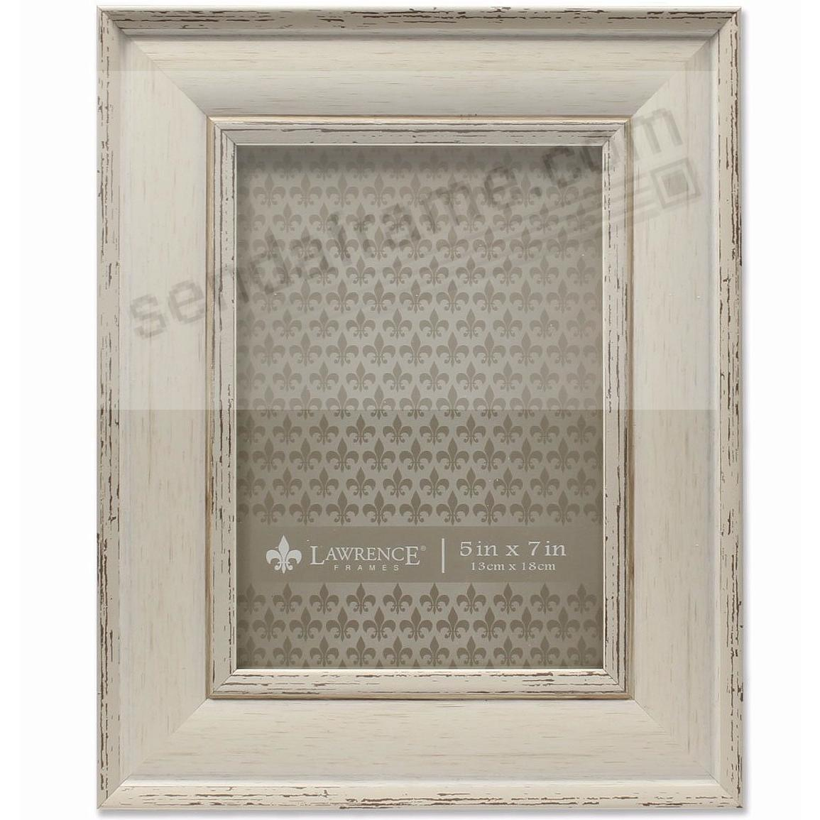 Domed Top IVORY WEATHERED frame by Lawrence®