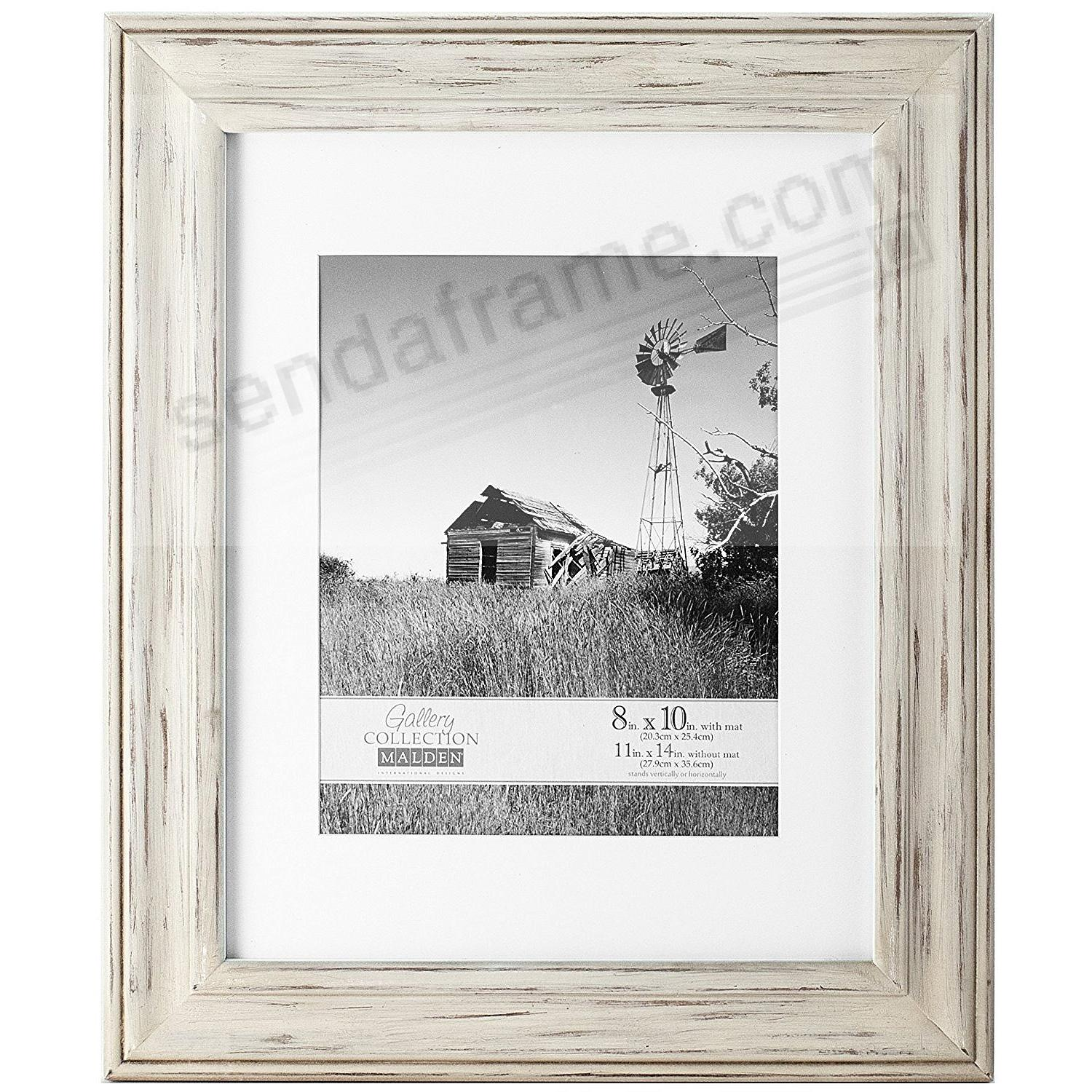 WHITMAN WHITE WASH matted 11x14/8x10 frame by Malden Design ...