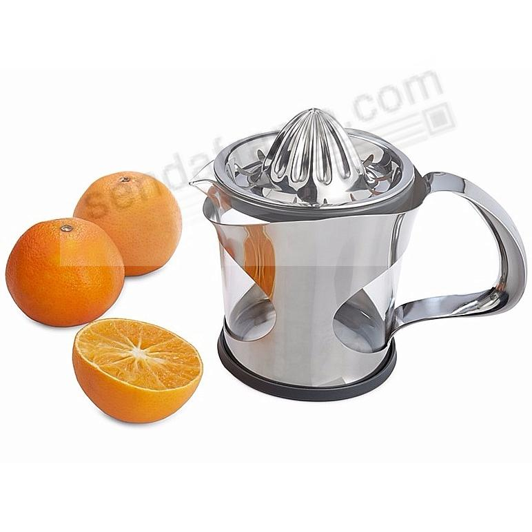 The New ZEST CITRUS REAMER crafted by Nambe®