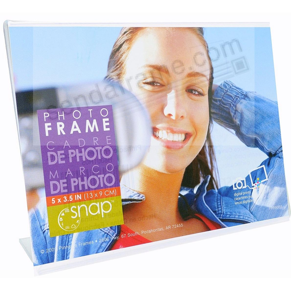 Ultra-clear Acrylic Bent-L 5x3½ Frame by SNAP®