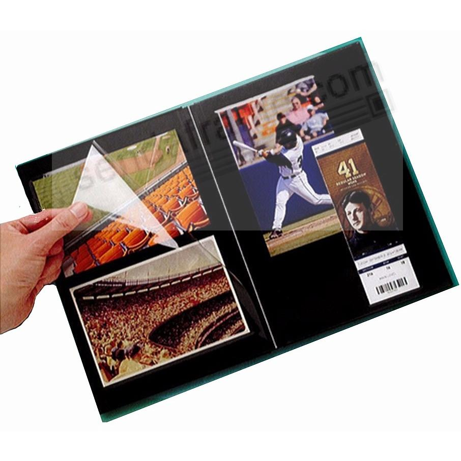 BROWN PROFOLIO PREMIUM FLEX 7½x10½ (medium 2-up) Album for Prints and Collectibles by Itoya®