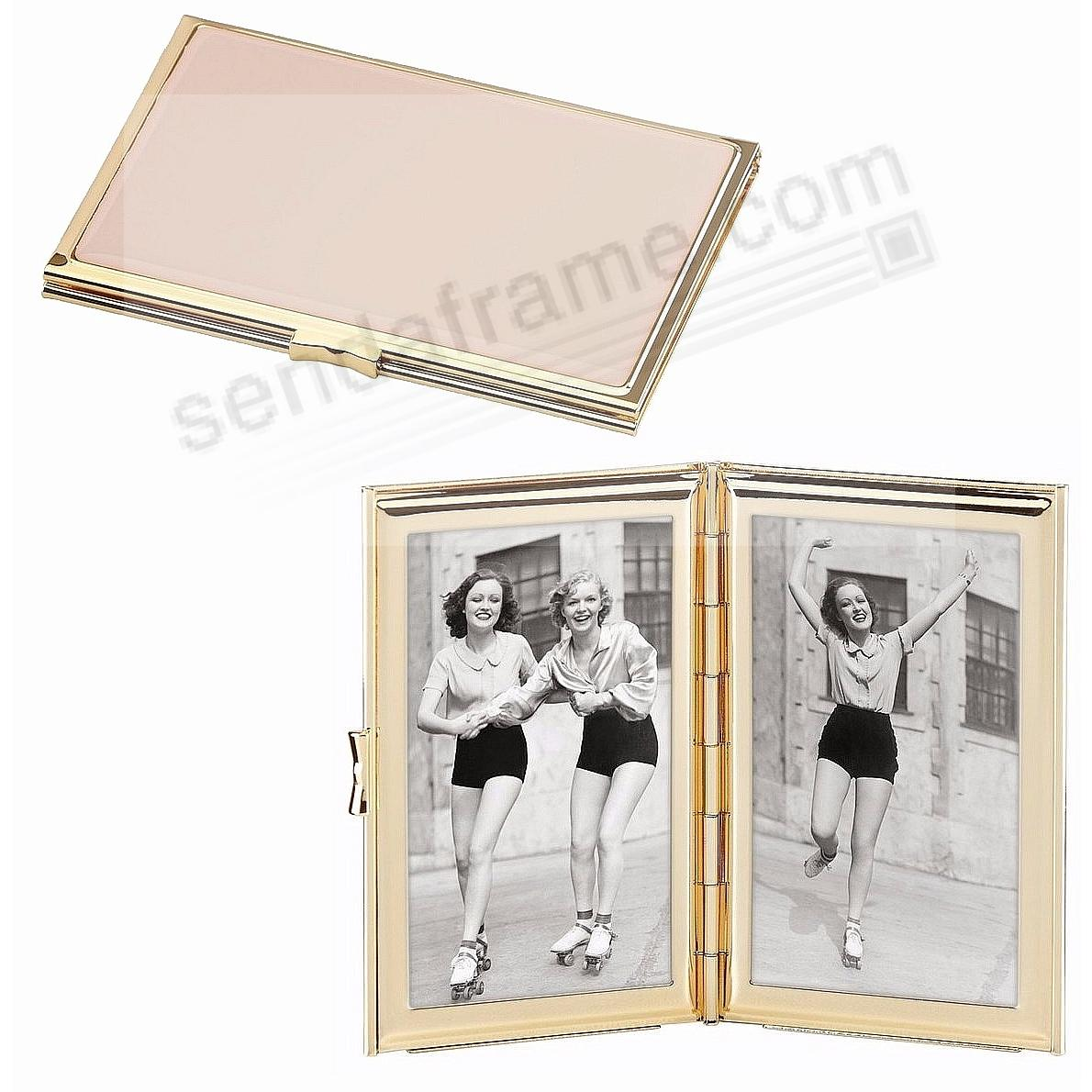 GARDEN DRIVE HINGED POCKET -PINK- frame by kate spade new york ...