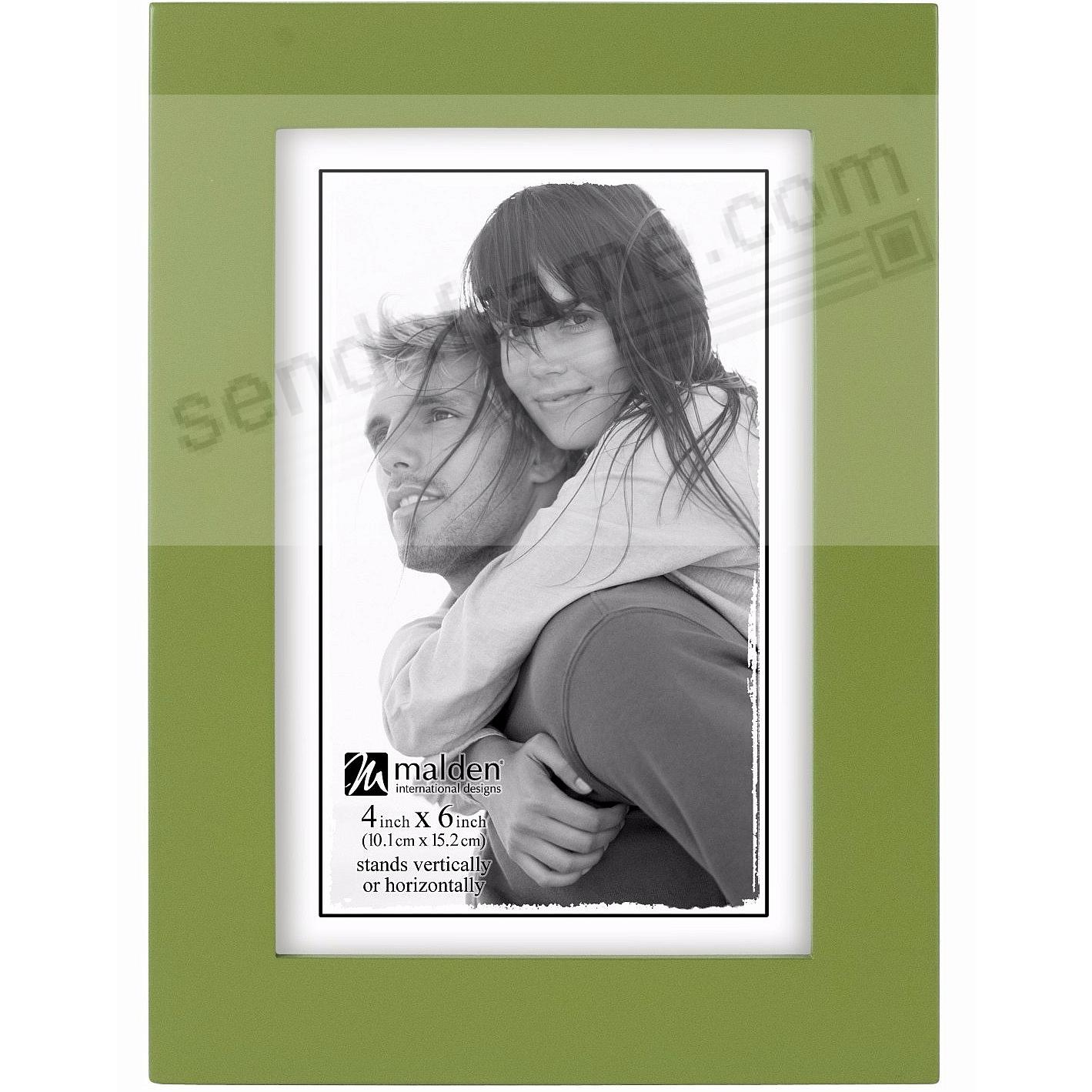 Green Flat-Top LINEAR in 4x6 by Malden® - Picture Frames, Photo ...