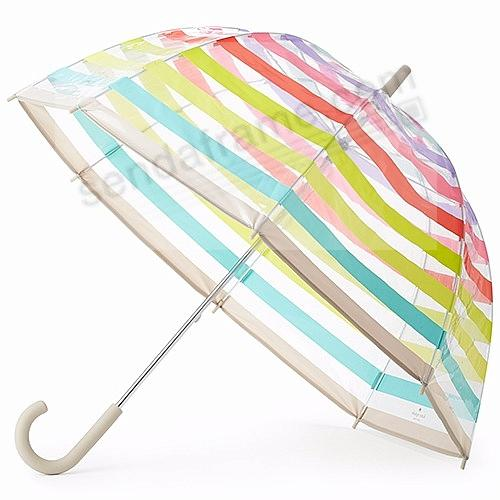 the original candy stripe umbrella by kate spade new york® - Picture ...