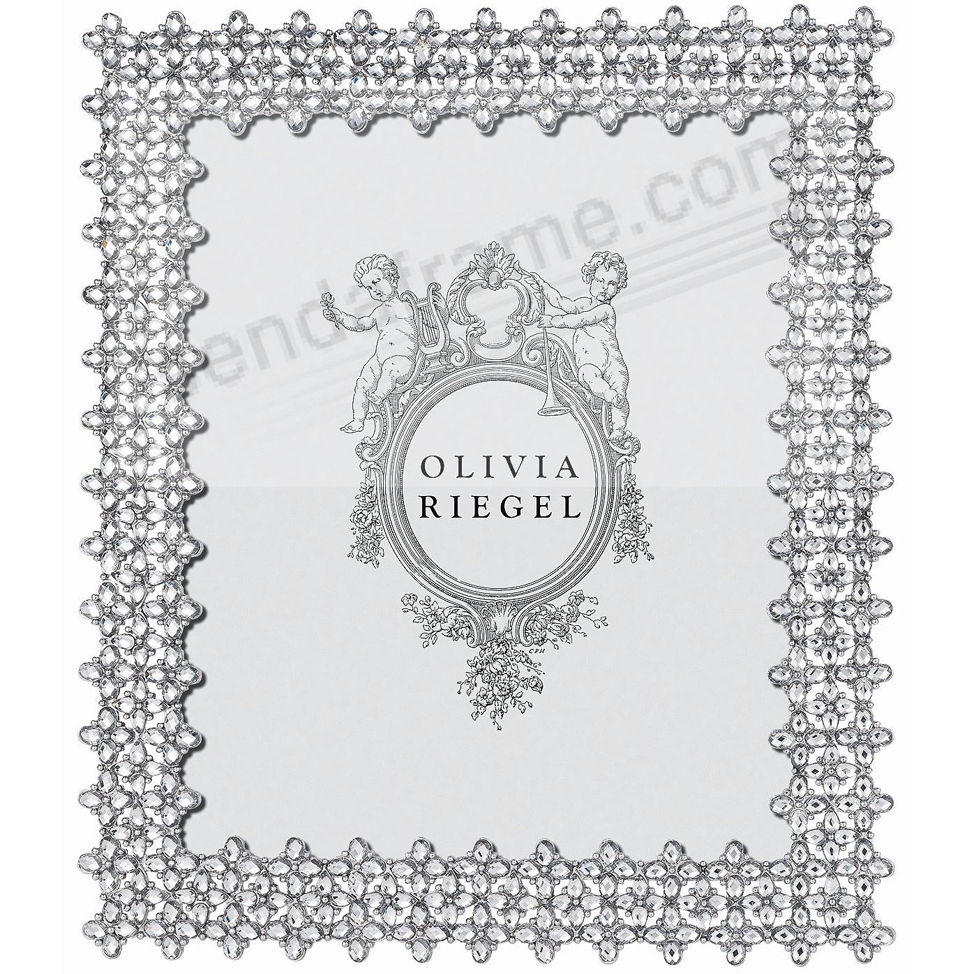 Silver gemma austrian crystal 8x10 frame by olivia riegel silver gemma austrian crystal 8x10 frame by olivia riegel jeuxipadfo Image collections