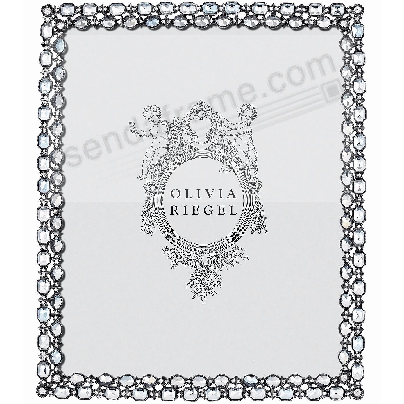 DORIAN Pewter - Hematite - Crystal 8x10 frame by Olivia Riegel®