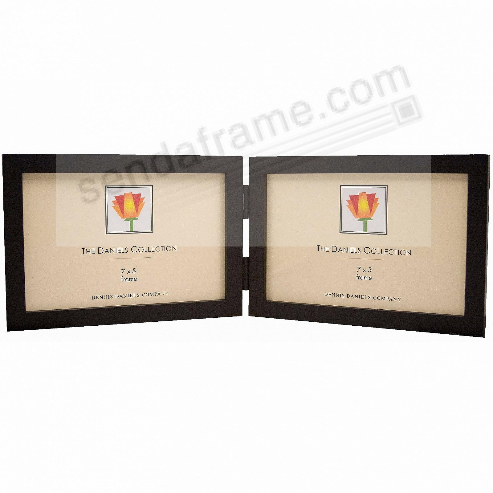 Picture frames photo albums personalized and engraved digital the original daniels w41 gallery woods uhorizontalu blackstain hinged 7x5 by dennis danielsreg jeuxipadfo Choice Image