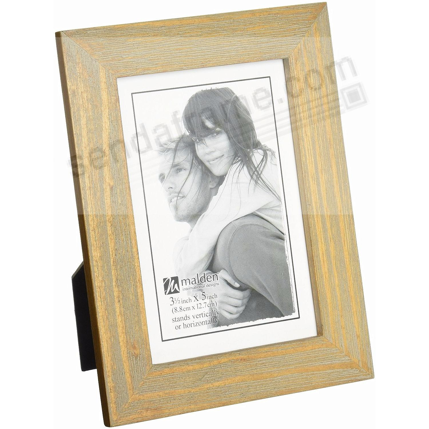 DRIFTWOOD LINEAR 3½x5 frame by Malden® - Picture Frames, Photo ...