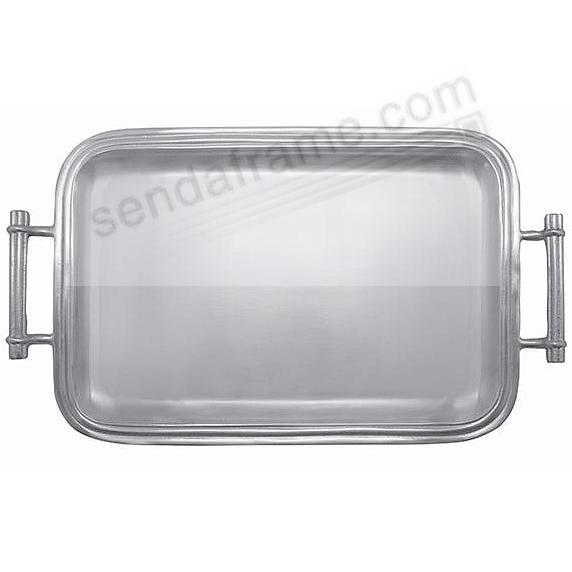 The CLASSIC (Medium) HANDLED SERVING TRAY by Mariposa®