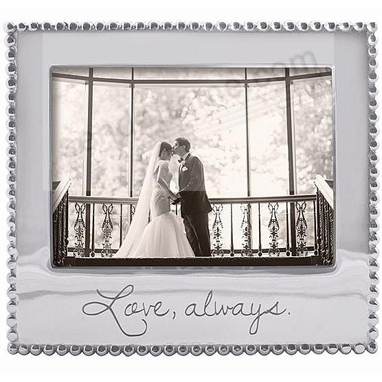 LOVE ALWAYS Statement frame crafted by Mariposa®