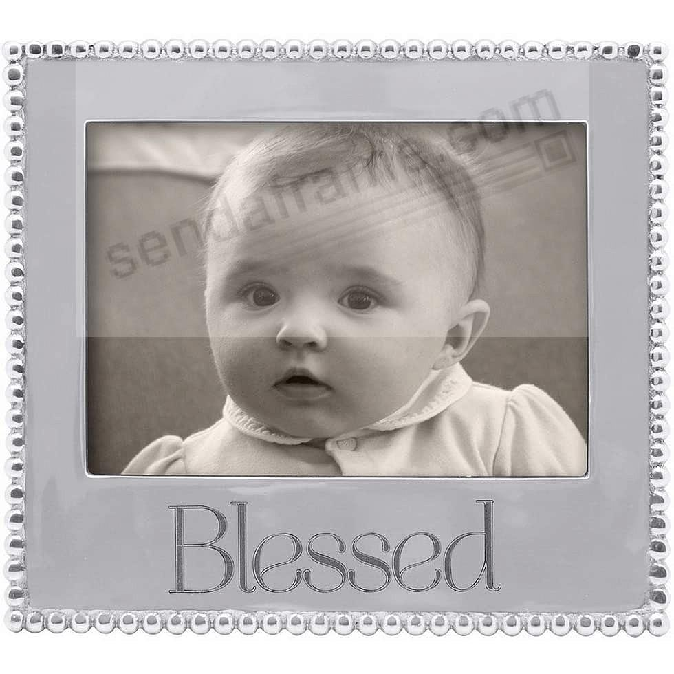 BLESSED Statement frame crafted by Mariposa®