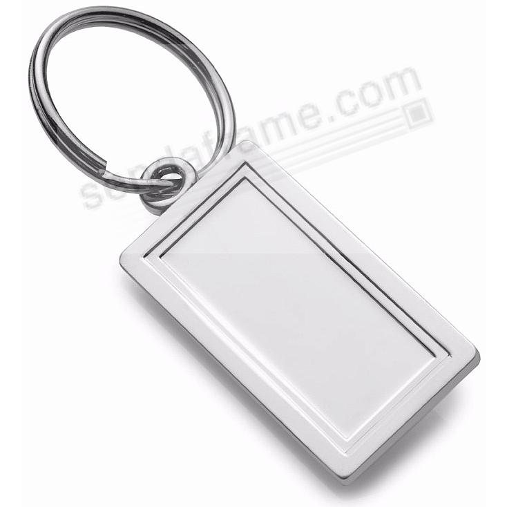 Fine .925 sterling silver keyring<br>by Empire Silver