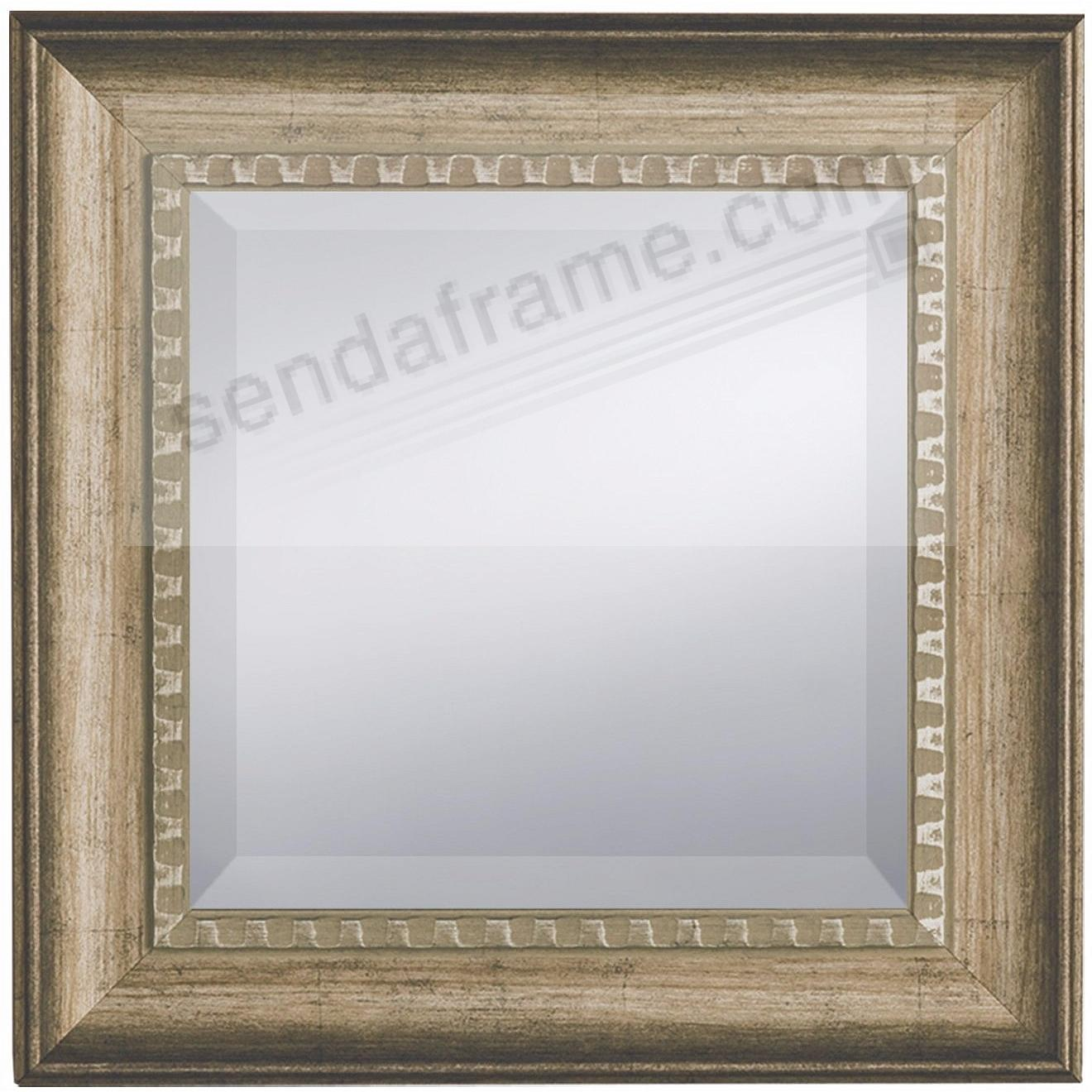 Gold Finish PALAZZO Pattern Mirror 17x17 by Prinz® - Picture Frames ...