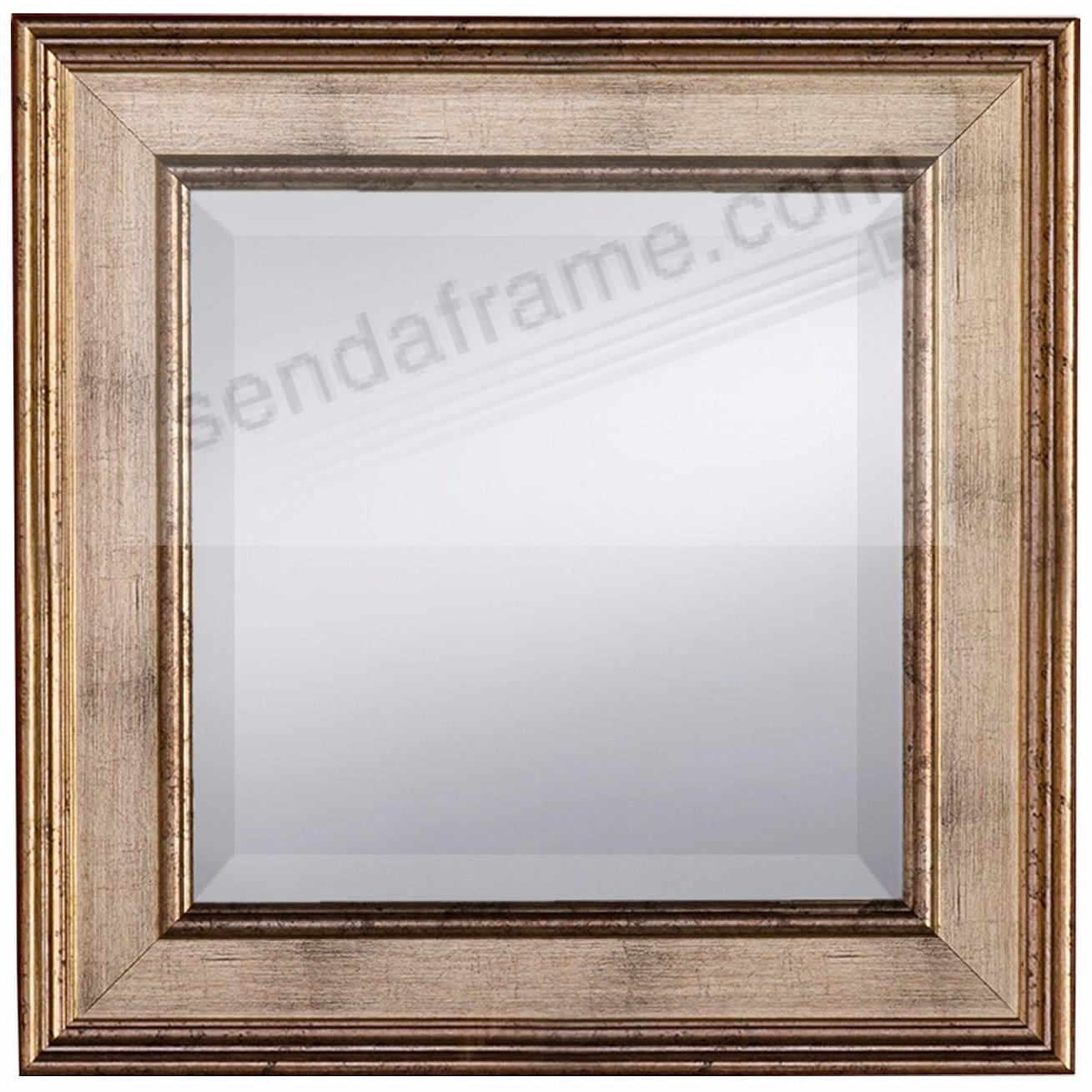 Champagne Finish PALAZZO Pattern Mirror 17x17 by Prinz® - Picture ...