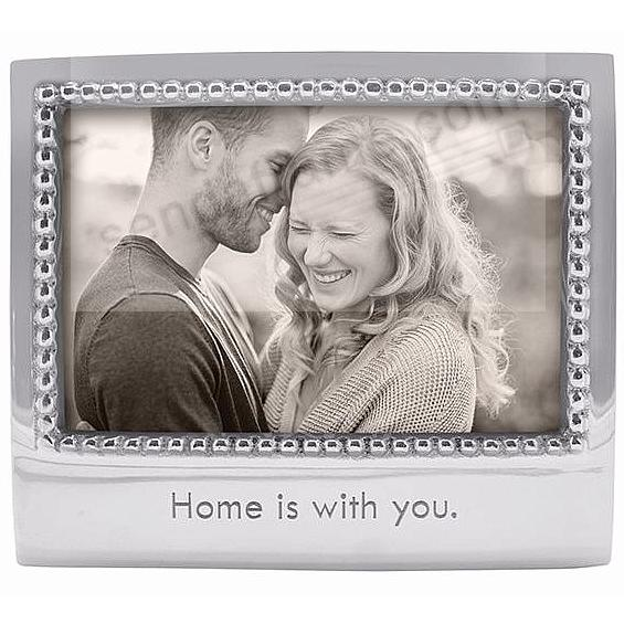 HOME IS WITH YOU frame for 6x4 photos crafted by Mariposa®