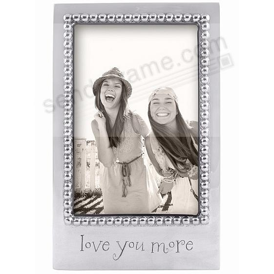 LOVE YOU MORE Statement frame crafted by Mariposa®