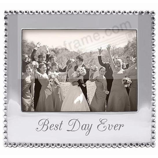 BEST DAY EVER Statement frame crafted by Mariposa®