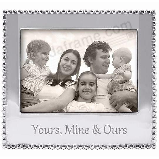 YOUR -MINE - and OURS Statement frame crafted by Mariposa®