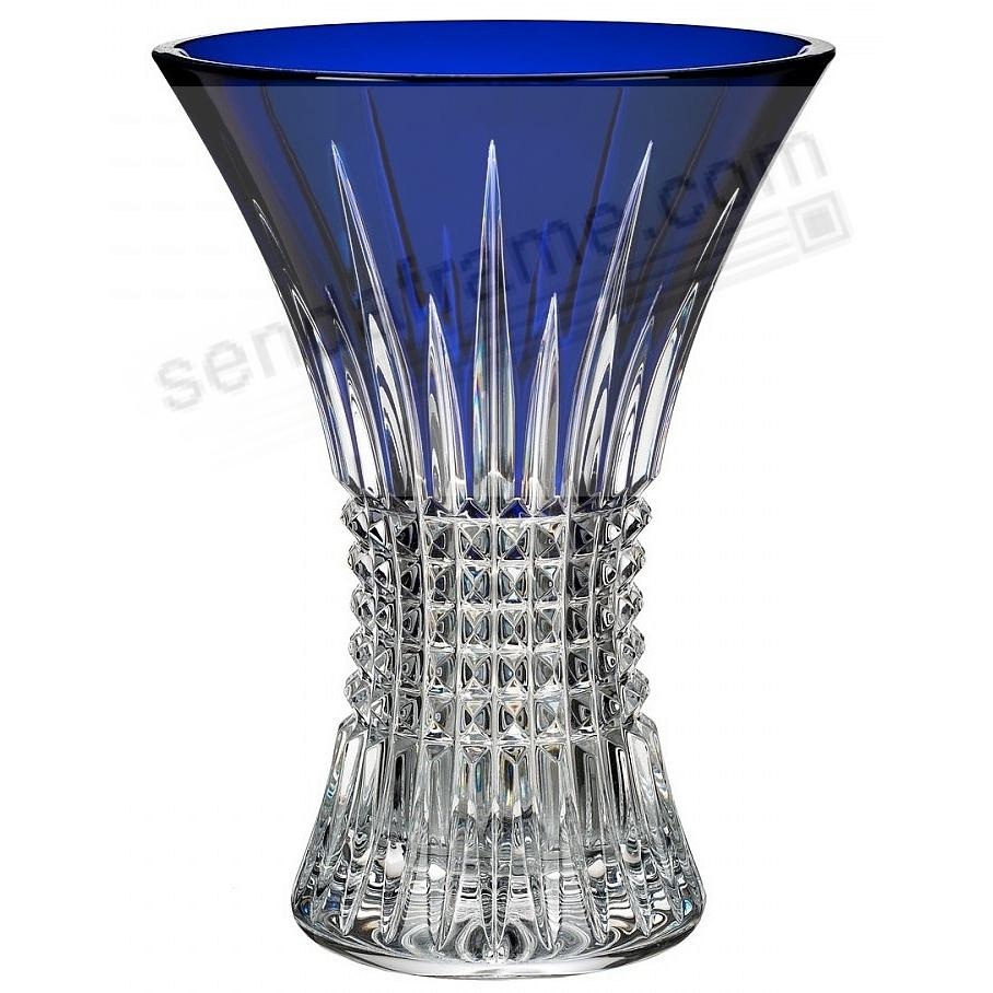 The Original LISMORE DIAMOND COBALT 8-in Vase by Waterford®