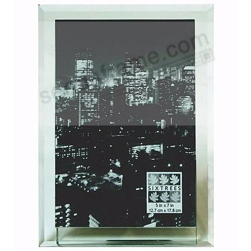 MANHATTAN beveled glass frame for your 5x7 print