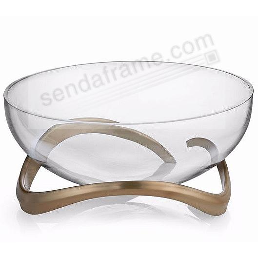 The New ECO CENTERPIECE 11-inch BOWL crafted by Nambe®