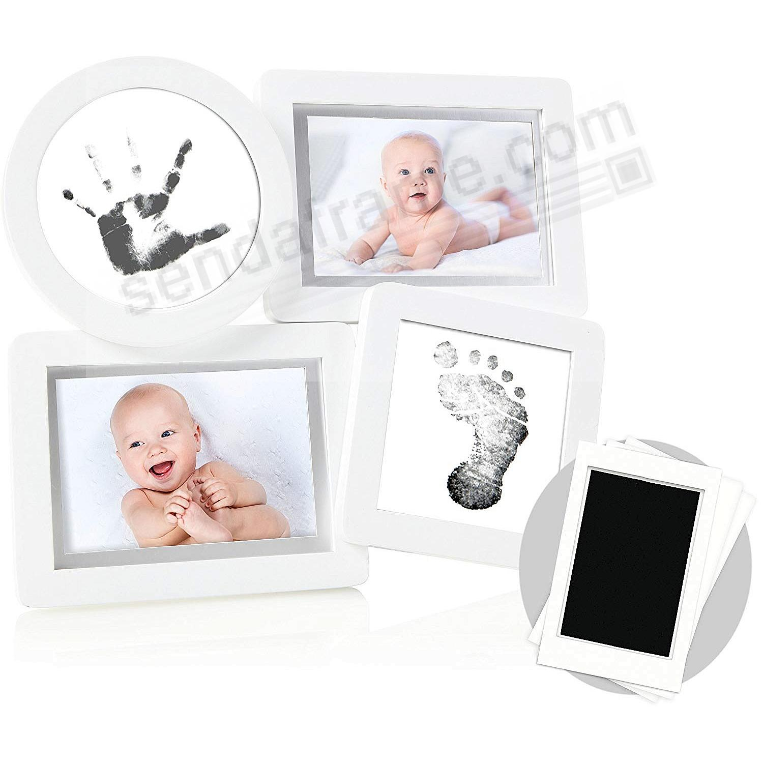 The BABYPRINTS White Collage Frame - Picture Frames, Photo Albums ...