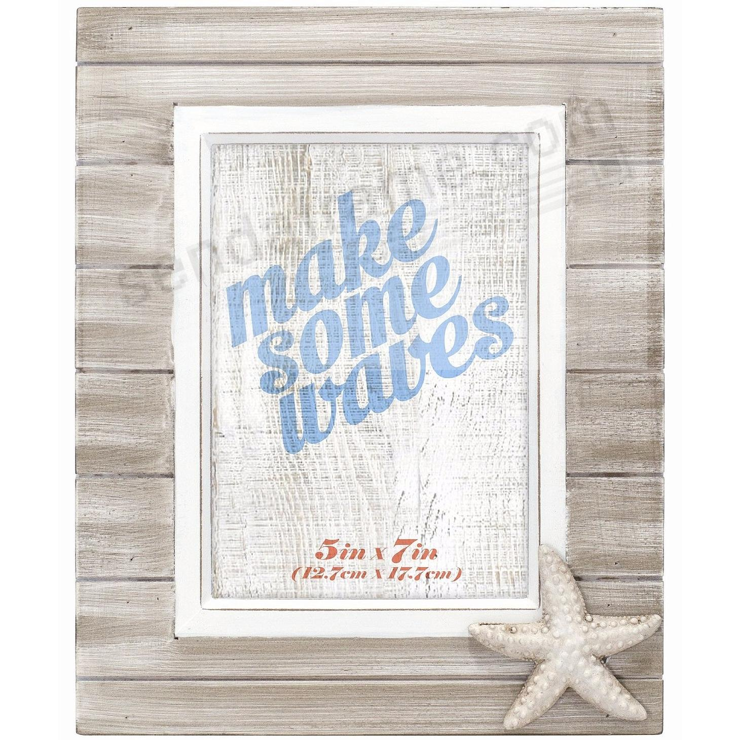 MARITIME STARFISH 5x7 frame by Malden® - Picture Frames, Photo ...