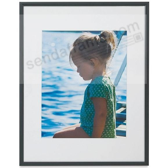 STUDIO CONTRAST GREY metallic frame matted 8x10/5x7 by Nielsen®